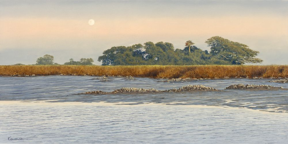 Simon Kenevan - The Moon Is In The Marshes