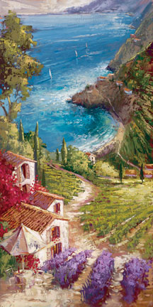 Steven Quartly Limited Edition Giclee - Amalfi Vineyard