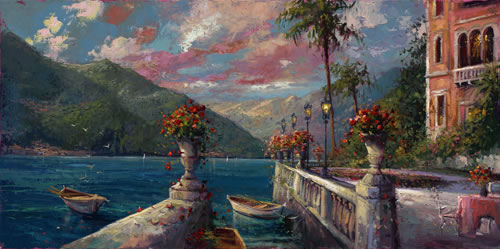 Steven Quartly Limited Edition Giclee - Bellagio