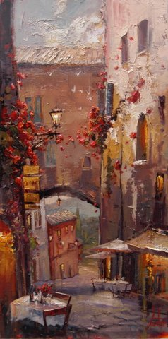 Steven Quartly Limited Edition Giclee - Cafe Sienna