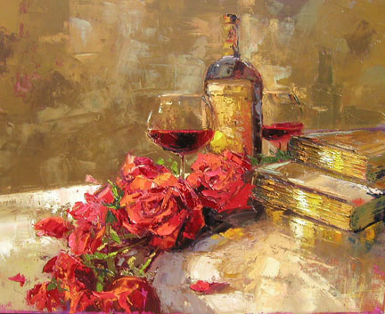 Steven Quartly Limited Edition Giclee - Days of Wine and Roses