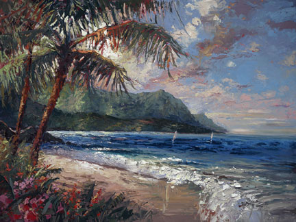 Steven Quartly - Hanalei Bay