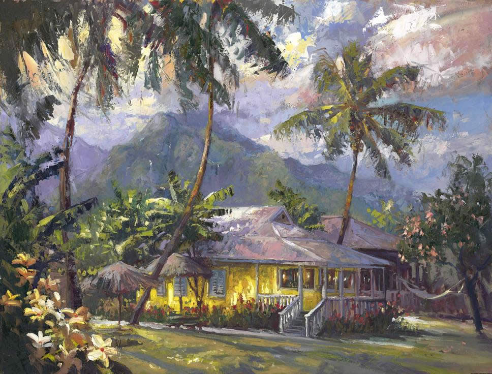 Steven Quartly Limited Edition Giclee - Heavenly Hanalei