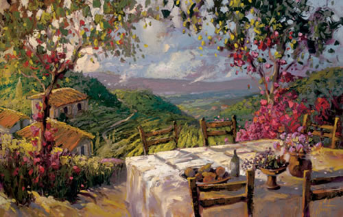 Steven Quartly - Hills of Tuscany
