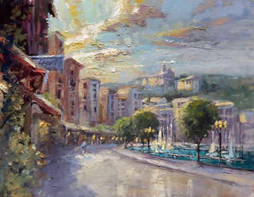 Steven Quartly Limited Edition Giclee - Impressions of St. Jean