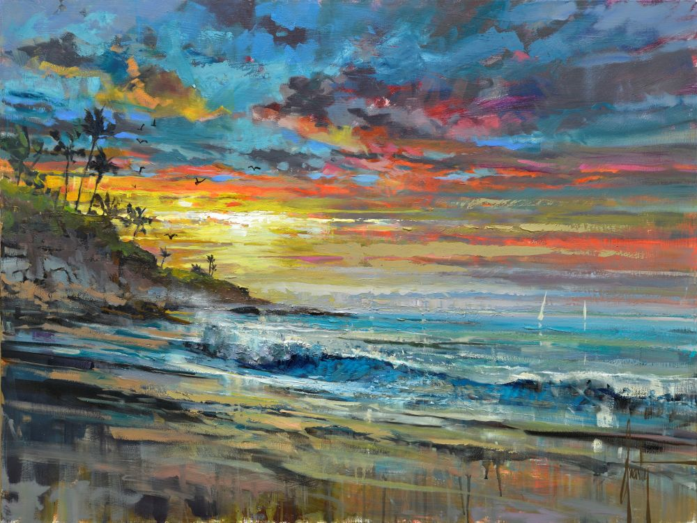 Steven Quartly - Laguna Sunrise