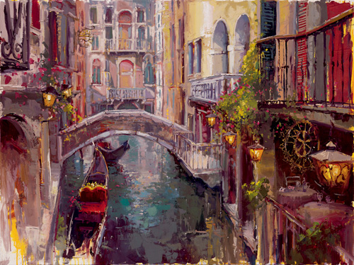 Steven Quartly Limited Edition Giclee - Lost in Venice