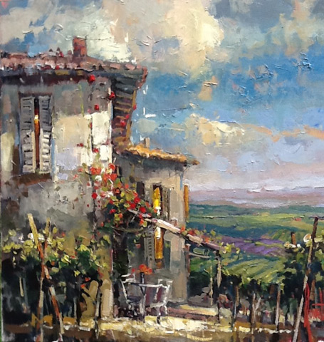 Steven Quartly Original Oils - Luce del Sole