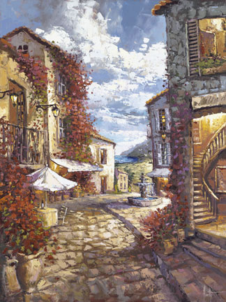 Steven Quartly Limited Edition Giclee - Mediterranean Villas