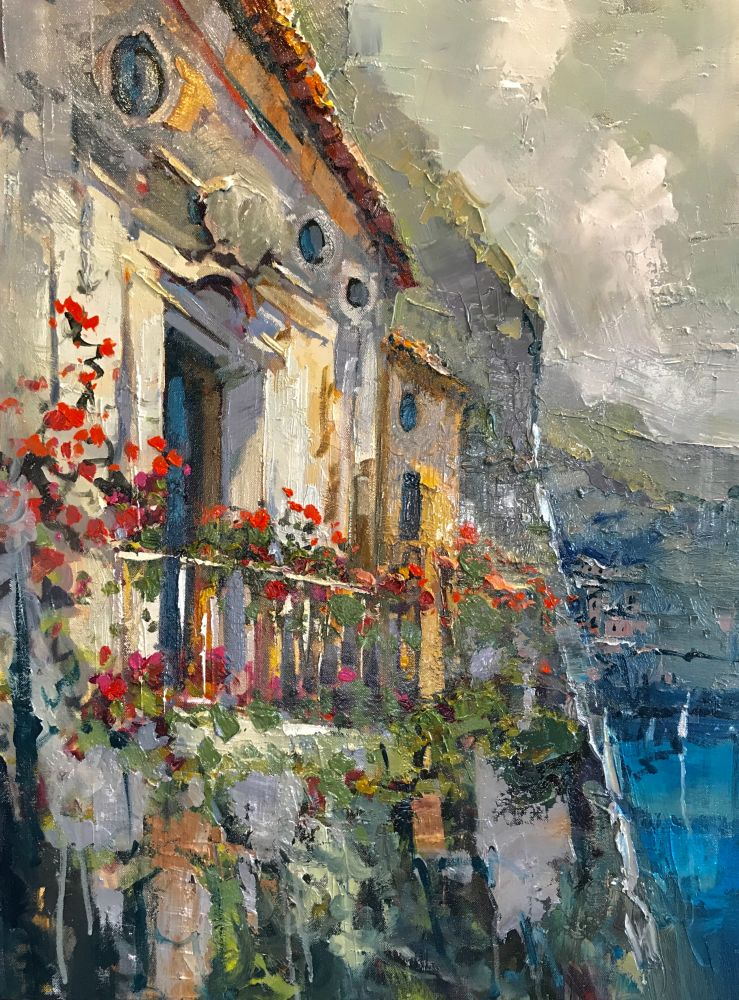 Steven Quartly - Over Positano