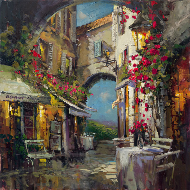 Steven Quartly Limited Edition Giclee - Sienna Rain