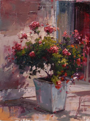Steven Quartly Original Oils - Simple Fusia