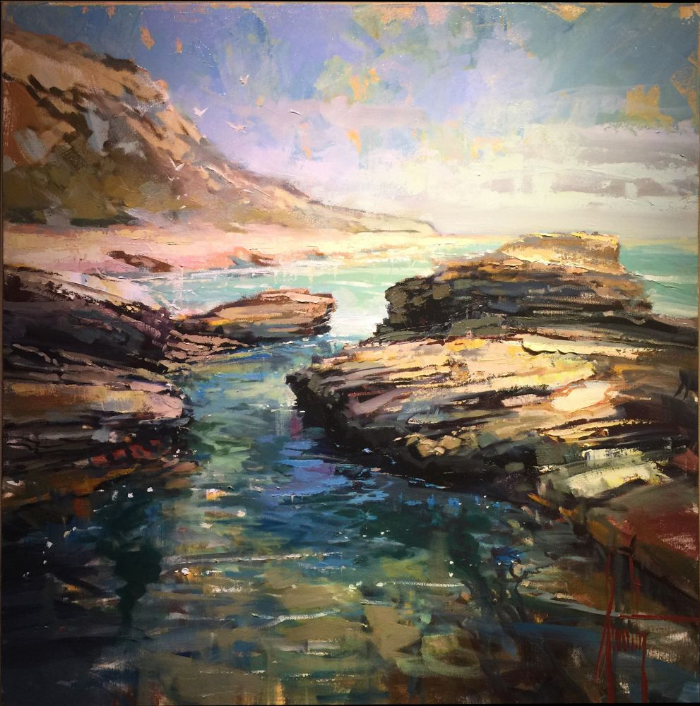 Steven Quartly - Sunlit Cove