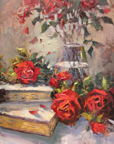 Steven Quartly Original Oils - True Love