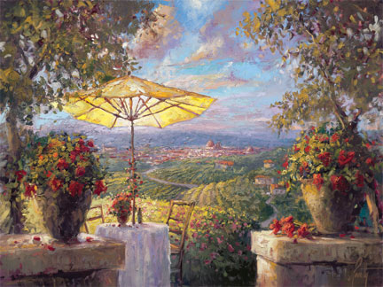 Steven Quartly - Tuscany Twilight