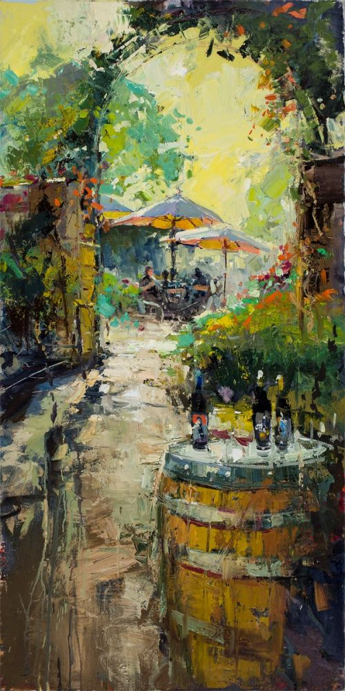 Steven Quartly - Umbrellas In The Sun