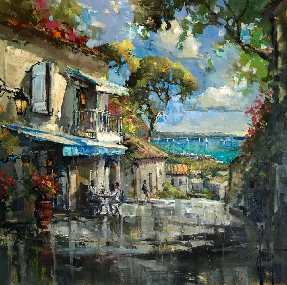 Steven Quartly - View of St Tropez