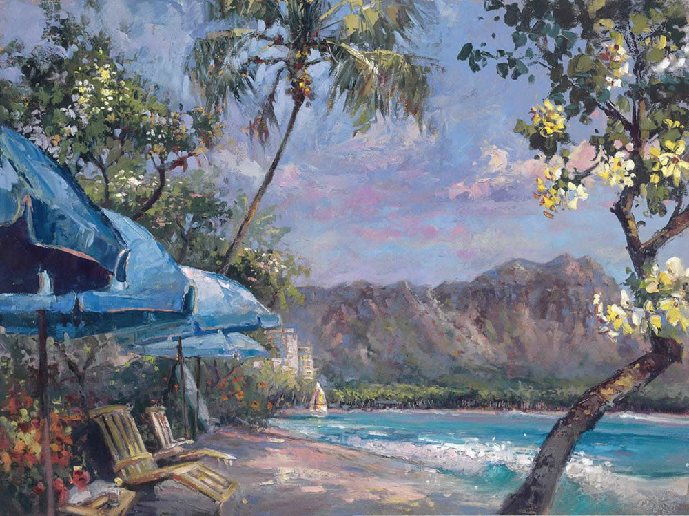 Steven Quartly Limited Edition Giclee - Waikiki Dreams