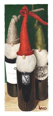 Thomas Arvid - Santa's Helpers Holiday Print