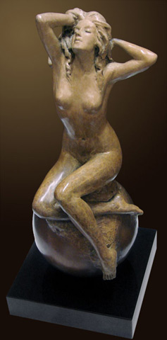Tuan - Spring (Bronze Sculpture)