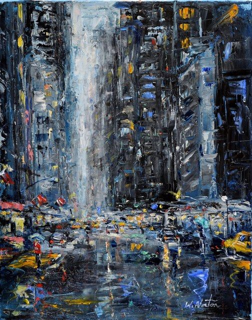 Wendy Norton  - Blue Reflections NY