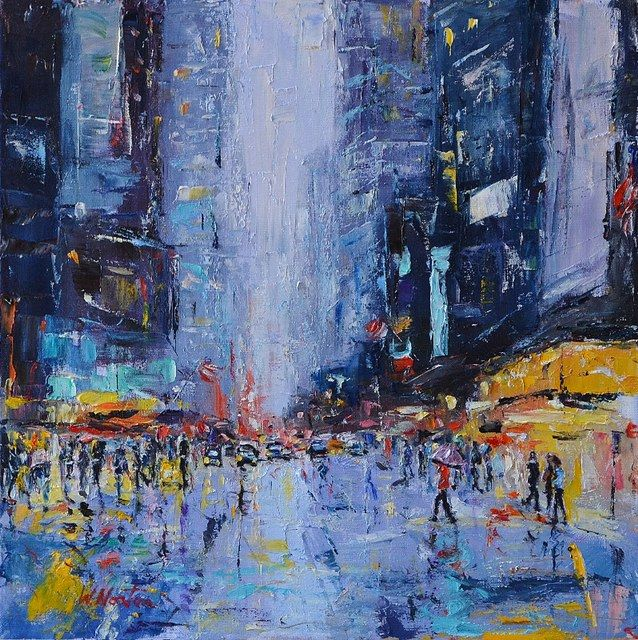 Wendy Norton  - Manhattan Sun Shower