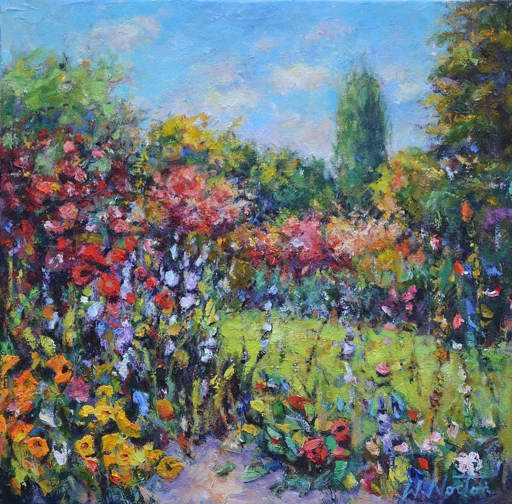 Wendy Norton  - Monet's Garden