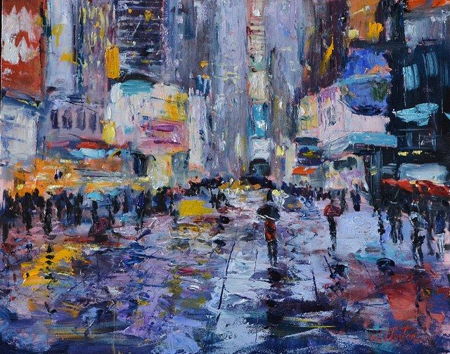 Wendy Norton  - The Colors of Time Square 1
