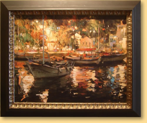 Dmitri Danish 2007 Gallery Event - Night In Port