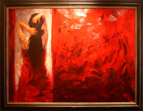 Henry Asencio 2007 Gallery Event - Red Door
