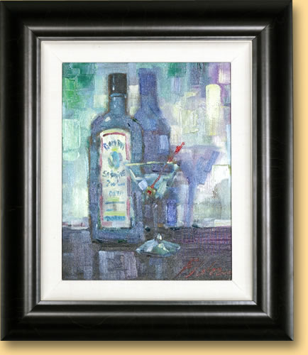 Michael Flohr 2003 Show - Gin in Shades of Blue