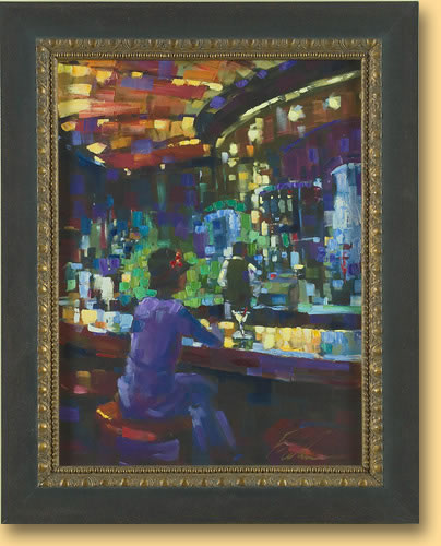 Michael Flohr Show 2005 - Mel at the Bar