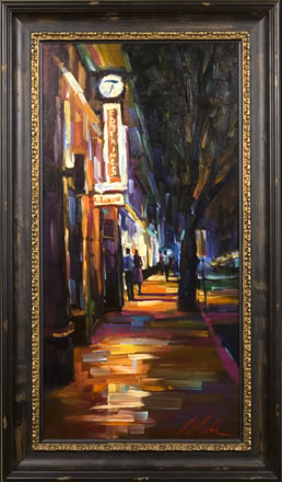 Michael Flohr 2006 Gallery Event - Fontaines