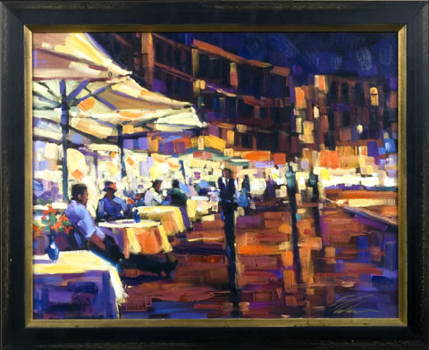 Michael Flohr 2006 Gallery Event - Cappuccino with Friends