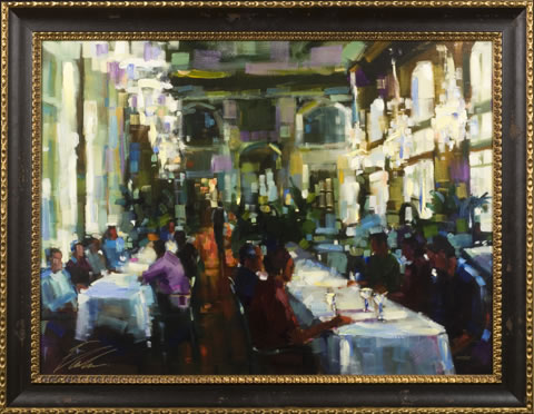 Michael Flohr 2006 Gallery Event - Crystal Cafe